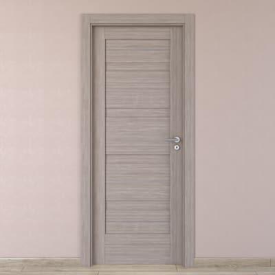 Porta da interno battente Capena 1 sabbia 70 x H 210 cm sx