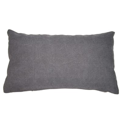 Cuscino Canvas Patch grigio 50 x 30 cm