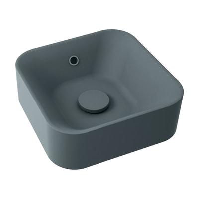 Lavabo da appoggio Capsule grigio prezzi e offerte online | Leroy Merlin