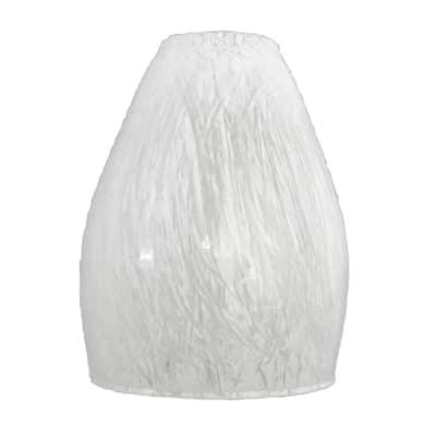 Vetro Riccio bianco verniciato
