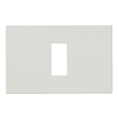 Placca 1 modulo Vimar serie 8000 bianco