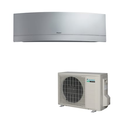 Climatizzatore fisso inverter monosplit Daikin EMURA 12000 BTU classe A+++ silver