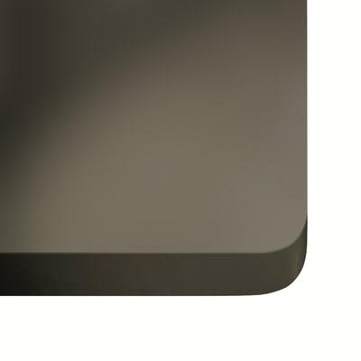 Alzatina su misura Galema ultra compatto grigio scuro H 6 cm