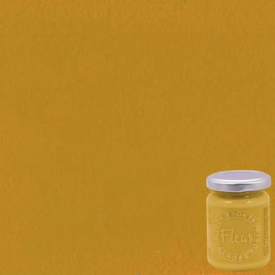 Colore acrilico giallo Yellow ochre opaco 130 ml Fleur