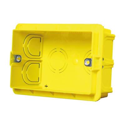 Scatola rettangolare Olan giallo