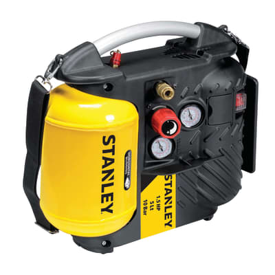 Compressore coassiale Stanley 10 bar Airboss OL195, 1.5 hp, pressione massima 10 bar