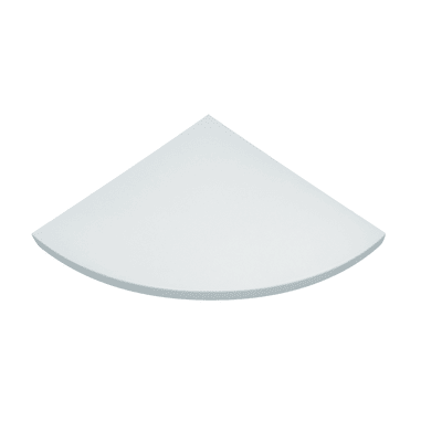 Mensola angolare Spaceo bianco L 25 x P 25, sp 1,8 cm