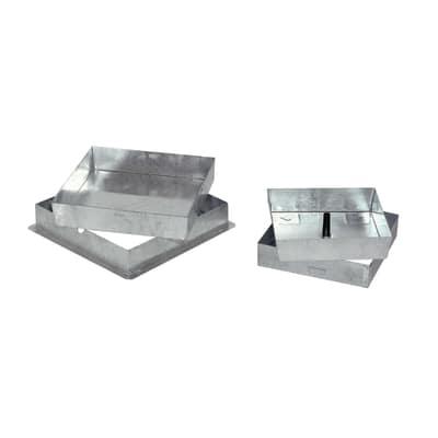 Sigillo zincato 430 x 430 x 50 mm