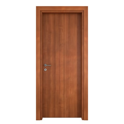 Porta per bed & breakfast battente Shatland noce biondo 80 x H 210 cm dx