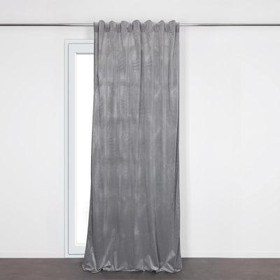 Tenda Misty grigio 135 x 280 cm