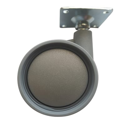 Ruota gomma termoplastica grigio Ø 60 mm