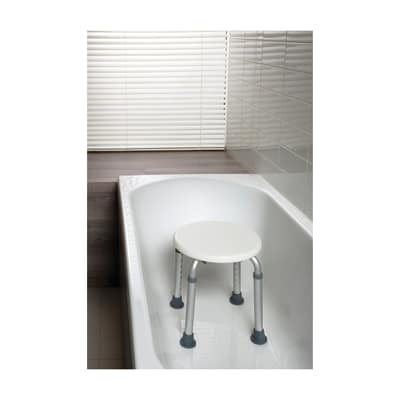 Sgabello in ABS bianco