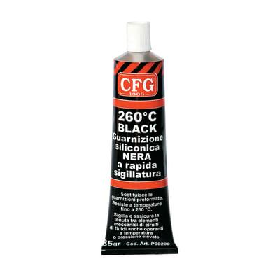 Guarnizione siliconica nera 85 g