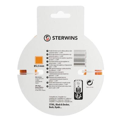 Filo per tagliabordi/decespugliatore Sterwins 30 m