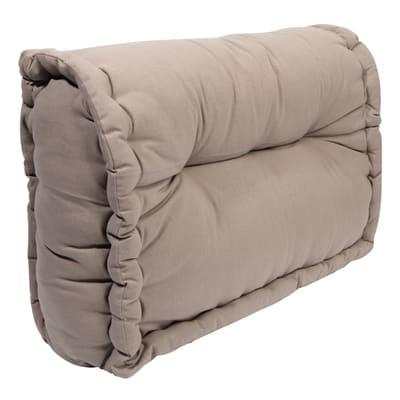 Cuscino schienale per divano pallet Santorin tortora 60 x 40 cm