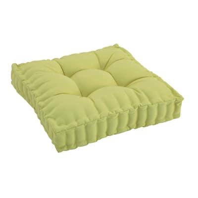 Cuscino seduta Marjorie verde chiaro 60 x 60 cm