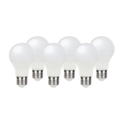 6 lampadine LED Lexman E27 =60W goccia luce naturale 200°