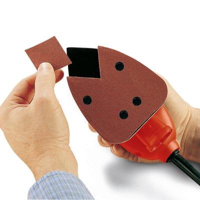 Levigatrice multifunzionale Black & Decker Mouse KA161BC-QS