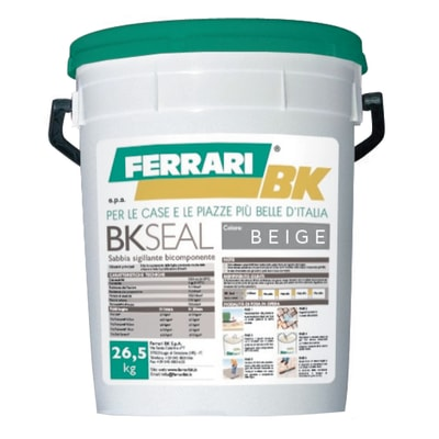Sabbia sigillante bicomponente Bk Seal beige 26,5 kg