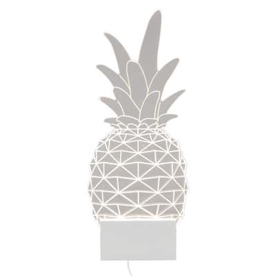 Applique Sagomata Pineapple L 13,3 x H 32 cm