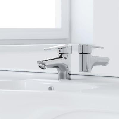 Mobile bagno Rimini bianco L 105 cm