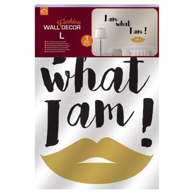 Sticker Fashion L What I am
