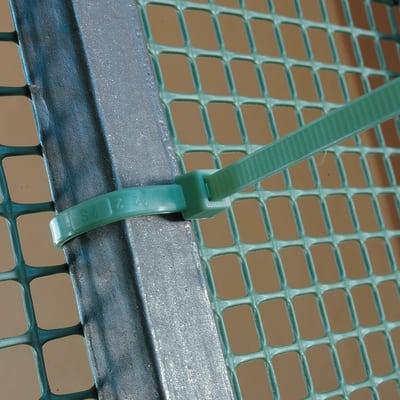 Fascette universali verde 0,1 m