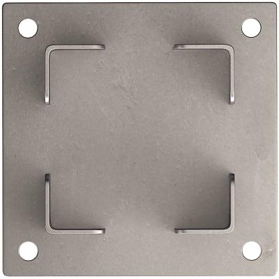 Base porta palo da interrare Classic L 12,5 x H 12,5 cm