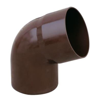 Curva pluviale in plastica Ø 100 mm, 67°