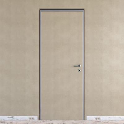 Porta da interno battente Pollock filomuro grezza 60 x H 210 cm ...