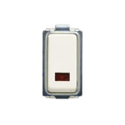 Pulsante 10A illuminato FEB Laser bianco