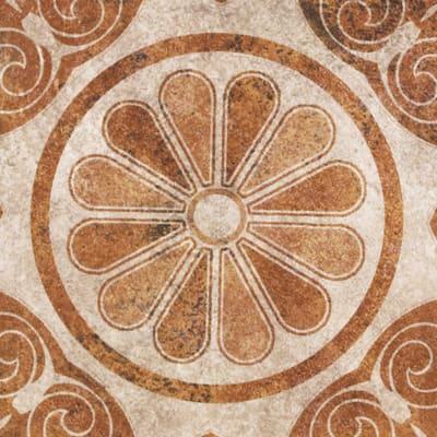 Piastrella Costa 20 x 20 cm grigio, antracite, marrone, beige