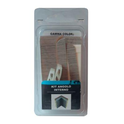 Angolare interno in kit kit angolo interno battiscopa 7011 rovere rosato 5 x Sp 20 mm