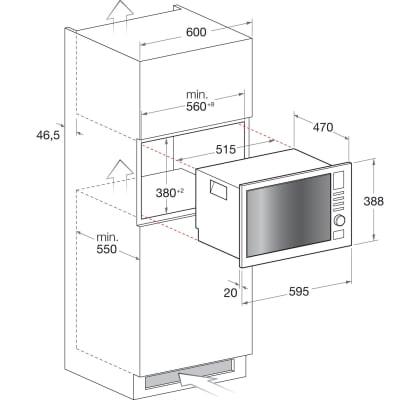 Microonde 2 funzioni HOTPOINT MWHA 222.1 X