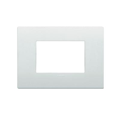 Placca Arké VIMAR 3 moduli bianco