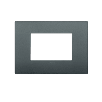 Placca Arké VIMAR 3 moduli grigio