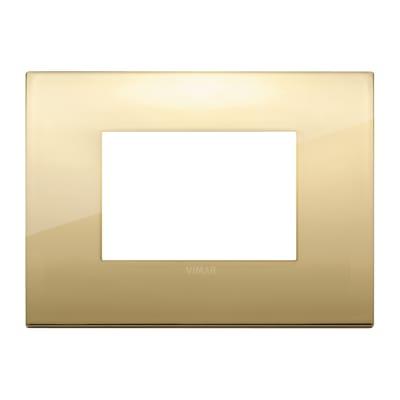 Placca VIMAR Arké 3 moduli oro