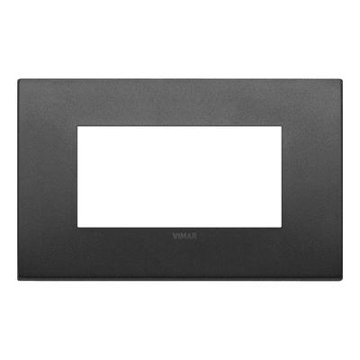 Placca VIMAR Arké 4 moduli grafite matt