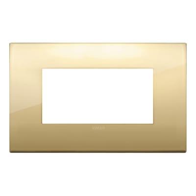 Placca VIMAR Arké 4 moduli oro