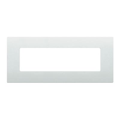 Placca VIMAR Arké 7 moduli bianco