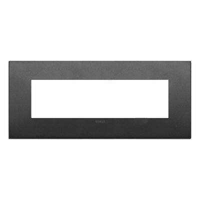 Placca VIMAR Arké 7 moduli grafite matt