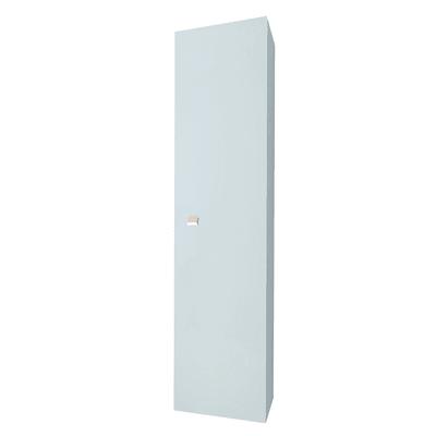 Colonna sospesa  1 anta L 31.5 x P 15.5 x H 136 cm grigio chiaro laccato