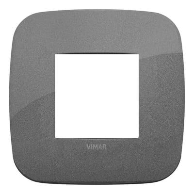Placca VIMAR Arké 2 moduli ardesia