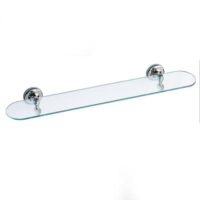Mensola per bagno Venezia L 60 cm grigio