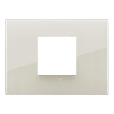 Placca VIMAR Arké 2 moduli reflex avorio