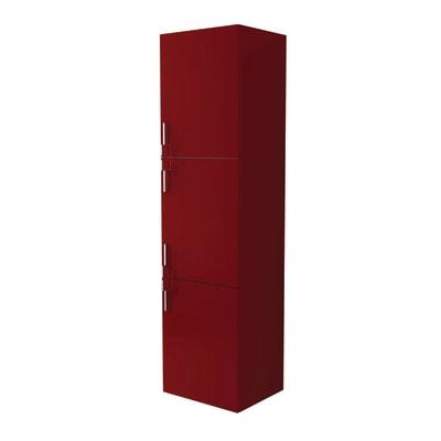 Colonna Sting 3 L 45 x P 38 x H 170 cm rosso