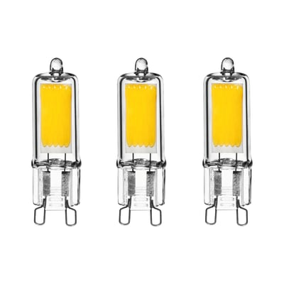 Lampadina LED G9 specifico bianco naturale 2W = 250LM (equiv 32W) 360° LEXMAN