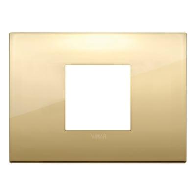 Placca VIMAR Arké Classic 2 moduli oro