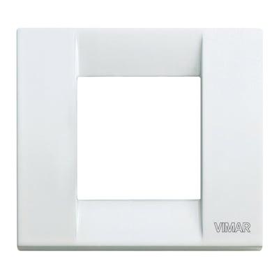 Placca VIMAR Arké Classic 2 moduli bianco