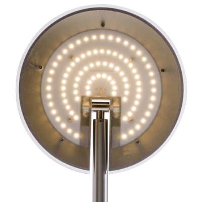 Lampada da terra Nenufar giallo, in metallo, H180cm LED integrato 18W 1697LM INSPIRE